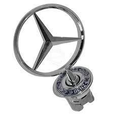 mercedes logo black background mercedes hood emblems ebay