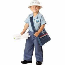 Toddler Halloween Costumes Boys Postman Toddler Halloween Costume Size 3t 4t Walmart