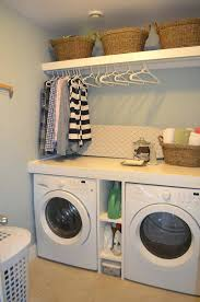 Laundry Room Storage Between Washer And Dryer This Functional Small Laundry Room Washer And Dryer Storage Units