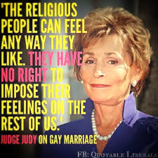 Traditional Marriage Meme - unfriended for judge judy traditional marriage now bigoted