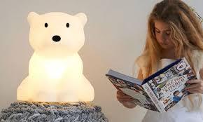 nanuk polar bear lamp unusual gifts