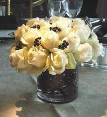 White Roses Centerpiece by White Rose Centerpieces Wedding Pinterest White Rose