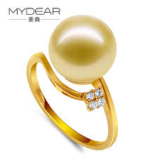 golden pearl rings images Mydear fine pearl jewelry lasted design gold ring jewelry charm 9 jpg