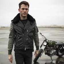 men s moto jacket drifter motorcycle jacket cockpit usa
