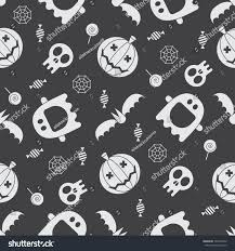 halloween seamless background halloween pattern background mystic seamless pattern stock vector