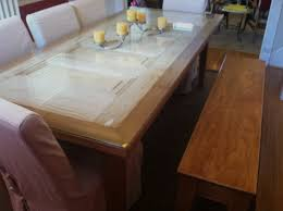repurposed dining table repurposed 5 panel door dining room table with matching bench