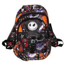 buy nightmare before bag nbc backpack rucksack orange