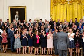 The White House Interior by Honoring Outstanding Teachers And Announcing Further Progress In