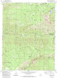 California City Map Sierra City Topographic Map Ca Usgs Topo Quad 39120e6