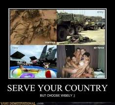 Funny Meme Posters - serve your country very demotivational demotivational posters