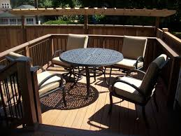 Patio Furniture Portland Or Composite Deck With Builderail Deck Masters Llc Portland Or