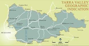 Lake Victoria Map Yarra Valley Map Tourist U0026 Wine Region Maps Victoria