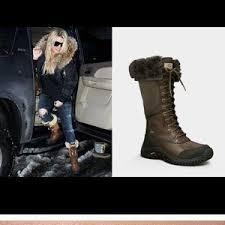 ugg australia womens black grey adirondack boots s ugg adirondack boot on poshmark