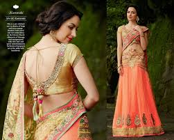 reception sarees for indian weddings net brasso embroidered reception wear lehenga saree buy