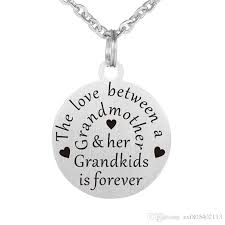 engraved pendants wholesale 10csthe between a grandmother and grandkids is