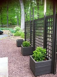 Backyard Screens Outdoor by Trellis Diy Movable Privacy Screen Brattle Fence Interiorsalvage