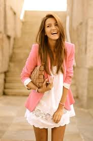 dresses for a summer wedding wedding guest dresses for summer 6 pink white dress with blazer