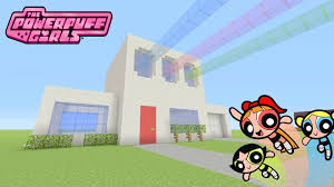 minecraft tutorial how to make the powerpuff girls house survival