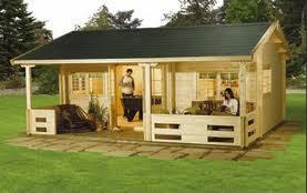 Summer House In Garden - build your own summerhouse in a garden