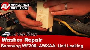 samsung washer water is leaking on floor diagnostic u0026 repair