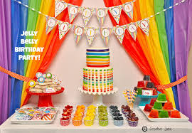 rainbow jelly bean birthday party ideas party ideas party