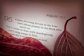 a psalm of thanksgiving singing as proclamation of the word u2039 effective ministry