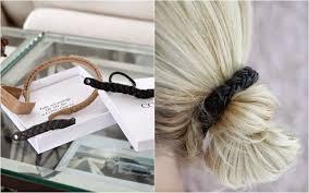 leather hair accessories stina auer corinne leather hair accessories