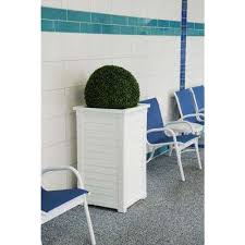 white indoor outdoor planters pots u0026 planters the home depot
