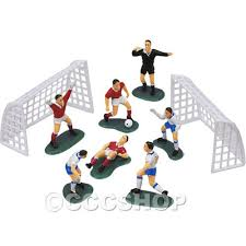 football cake toppers figurines cake toppers organicandsugarworld