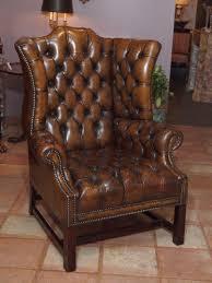 Leather Queen Anne Chair Queen Anne Chair Ebay