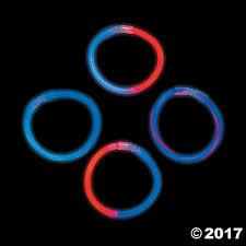 glow bracelets patriotic mix glow bracelets trading