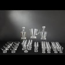 louis bicchieri louis bicchieri di cristallo modello di servizio parte
