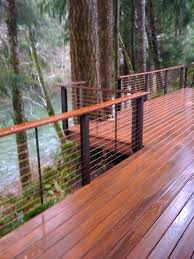Outdoor Banisters And Railings Best 25 Deck Stair Railing Ideas On Pinterest Deck Deck