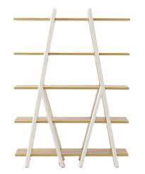 ladder bookshelf decorist