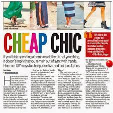 Fashion Nexus A Fashion Blog by Press Features The Shopaholic Diaries Indian Fashion Shopping