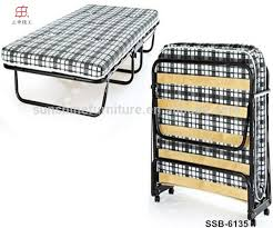 hotel home china factory single folding bed with wood slats buy