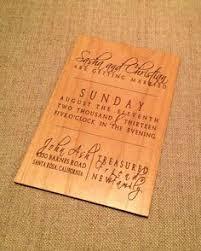 Engraved Wedding Invitations Laser Engraved Wood Wedding Invitations U2014such Agreat Option Laser