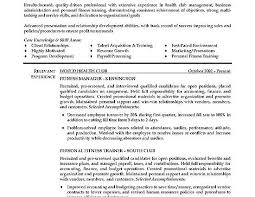 fitness trainer resume example personal trainer sample resume
