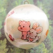 baby u0027s first christmas 1983 strawberry shortcake tree ornament
