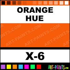 orange color acrylic paints x 6 orange paint orange color