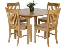 small dining table set for 4 small round table and 4 chairs lesdonheures com