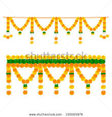 Flower Garland For Indian Wedding Indian Clipart Flower Garland Pencil And In Color Indian Clipart