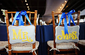 Bride And Groom Chair Signs Friday Fab Find A Weekly Snippet Of Creative U0026 Delicious Ideas