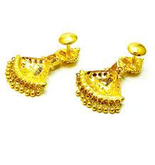 danglers earrings design brand new 22k 22ct 916 bis hallmarked gold dangler earrings