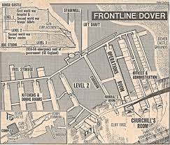 Dover England Map by Swingate Radar And The Towers The Dover Historian