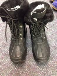 ugg s adirondack boot ugg s adirondack ii boots black mount mercy