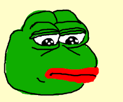 Frog Face Meme - ugly face drawing meme clipartxtras