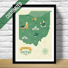 Chillicothe Ohio Map by Customized Map