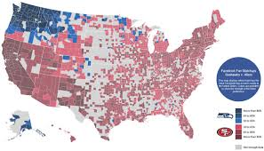All 50 Flags Facebook Map Shows America Was Rooting For The Seahawks After All