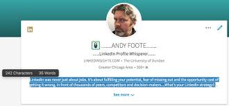 linkedin summary best practices congratulations your linkedin summary is now a headline and it